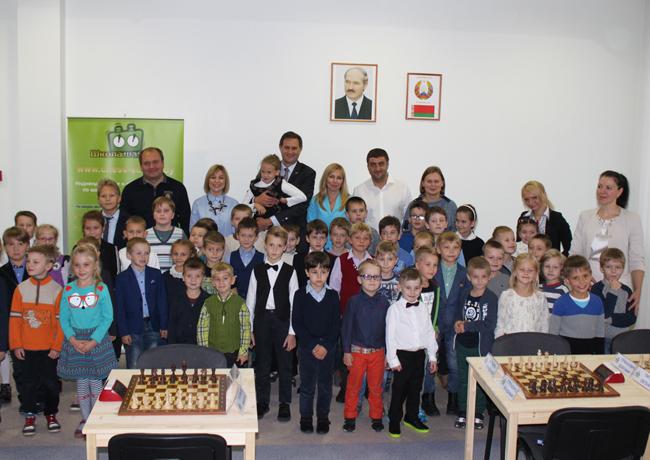 При поддержке НОК открылись новые залы Школы Шахмат ФИДЕ в Беларуси
